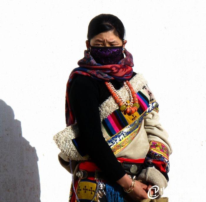 甘南藏族人物表情