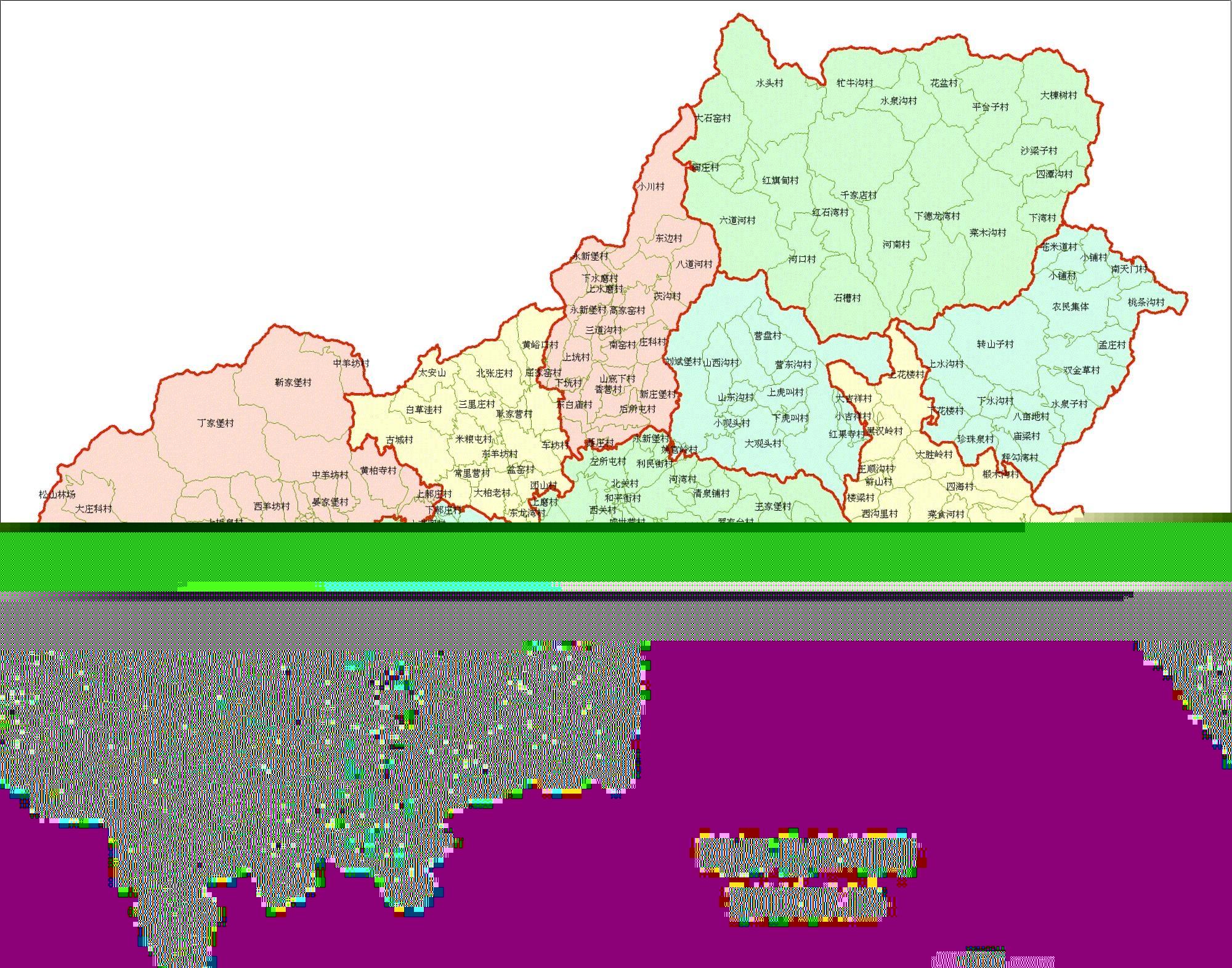 (转贴)北京下辖区分乡镇地图