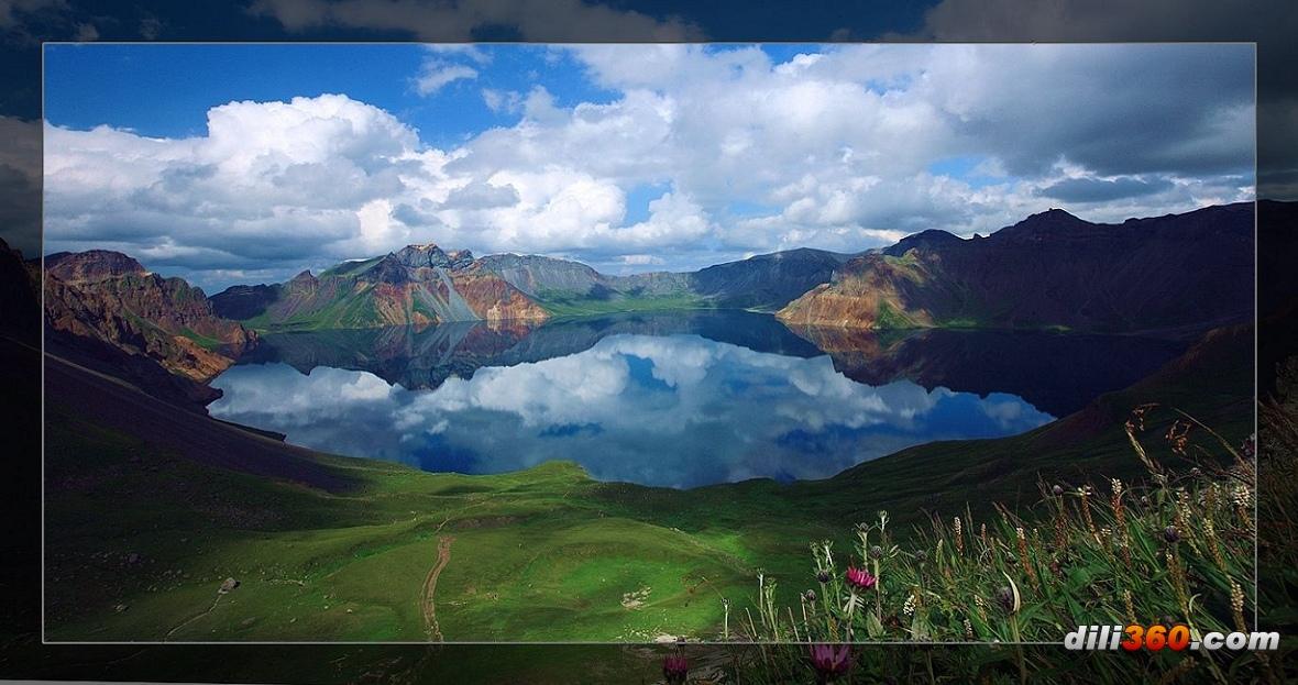 著名的长白山旅游风景区