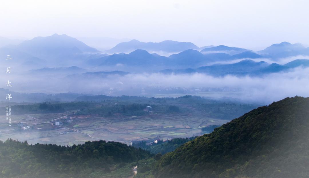 福建莆田大洋乡的风景