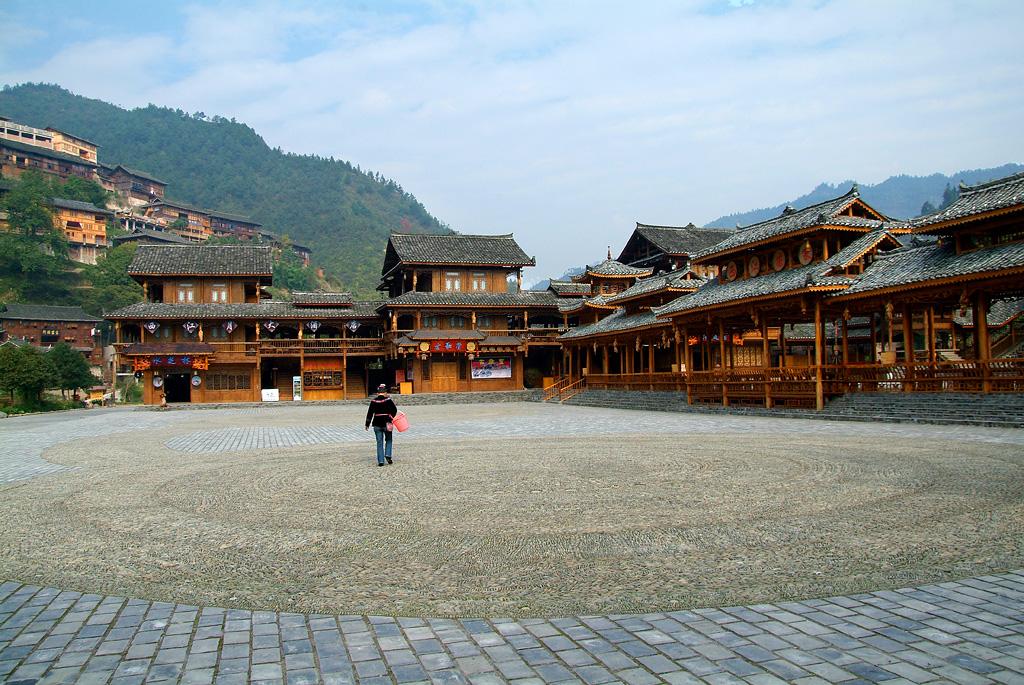 贵州木头房子图片大全