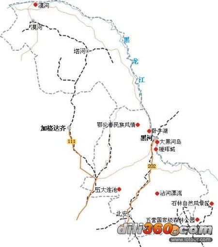 详细的中国县级行政区地图!