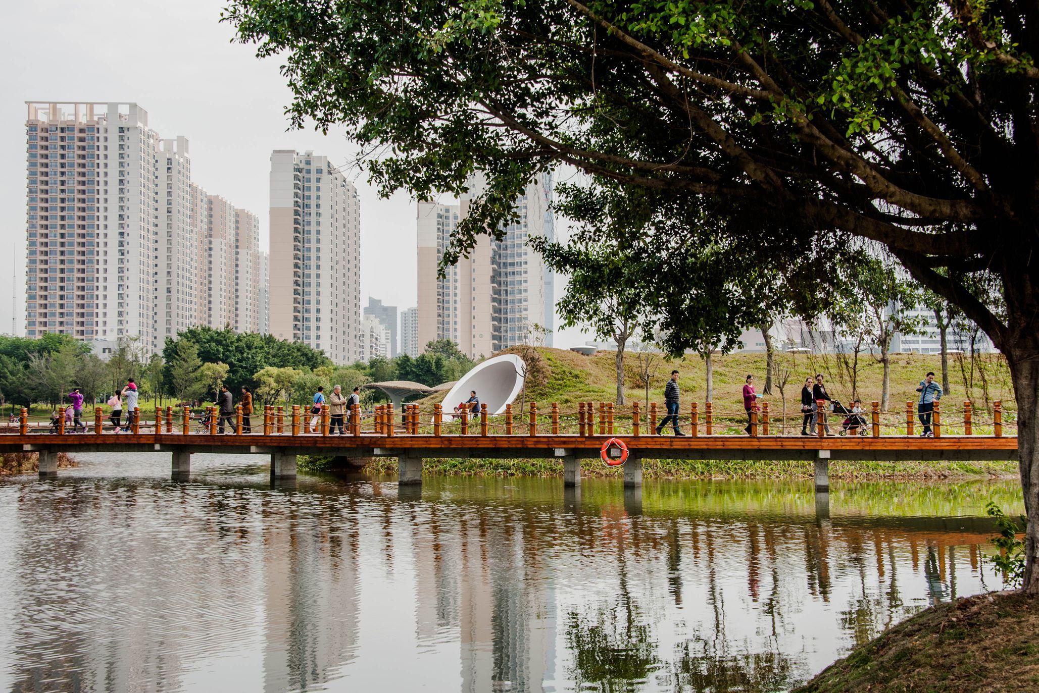 深圳福田红树林生态公园开园拾零