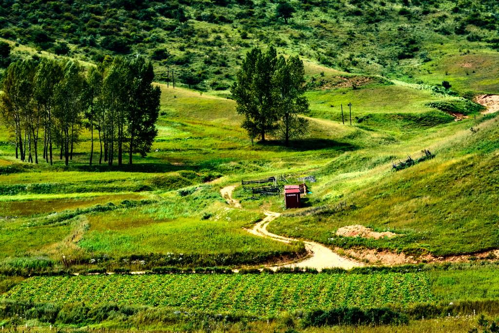 印象七里峪-七里峪风景区位于山西省临汾市辖区内中镇