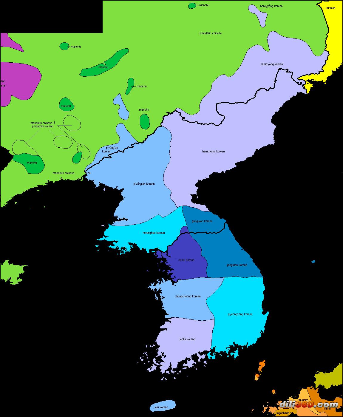 世界语言地图