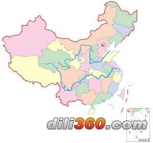 """全称是""""中华人民共和国地图"""",除了表述疆域的地理图形外,还有国旗"""