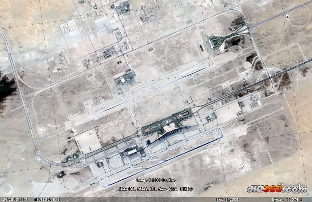 世界几大(面积)机场